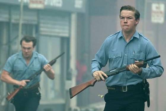 تعامل الشرطة مع انتفاضة السود فى ديترويت