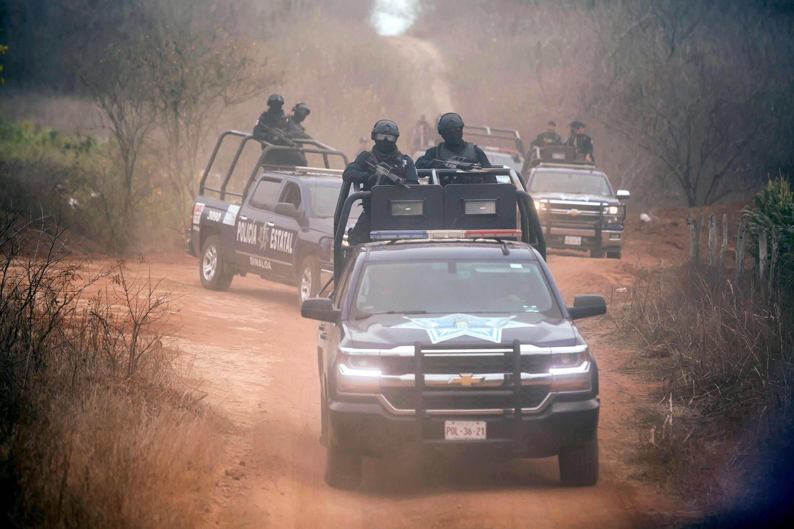 مداهمة للشرطة المكسيكية ضد زارعى الخشخاش