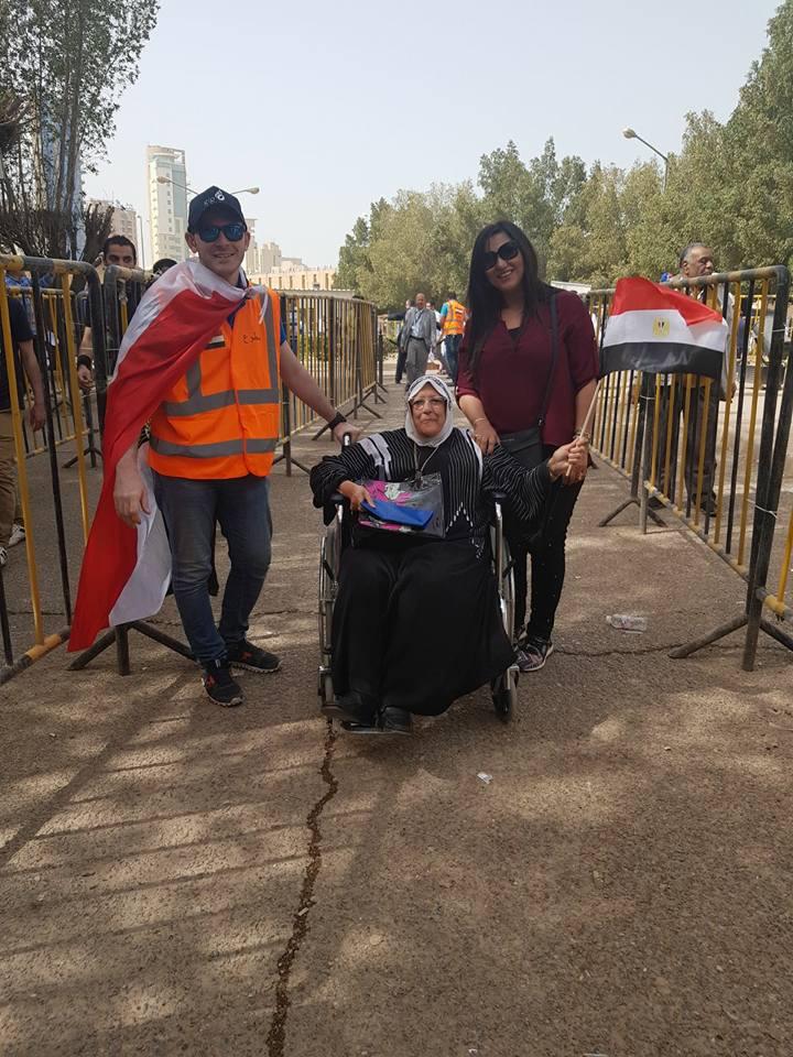 مشاركة ذوى الإعاقة فى الانتخابات الرئاسية (9)
