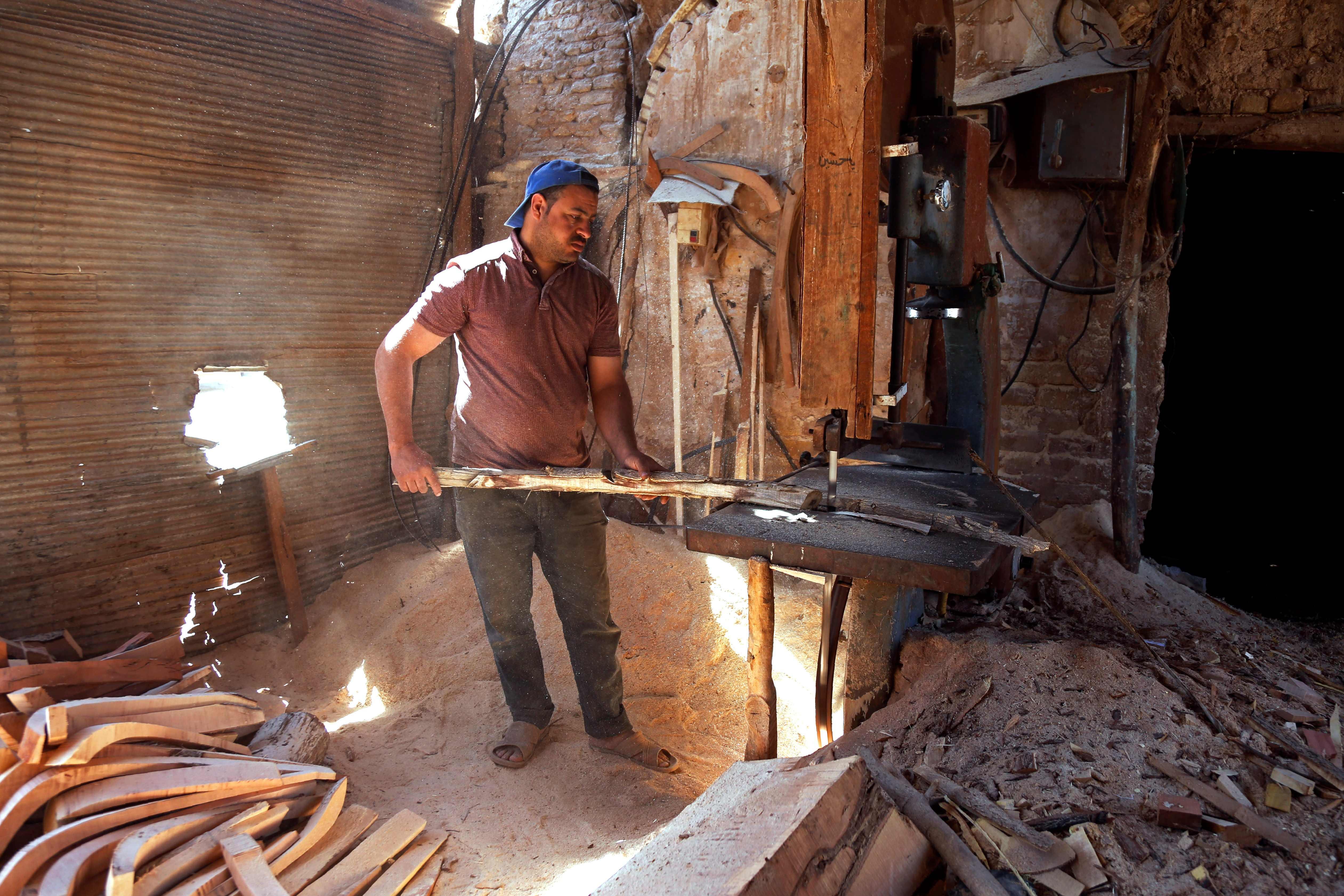 استخدام الأفران فى عملية الصناعة