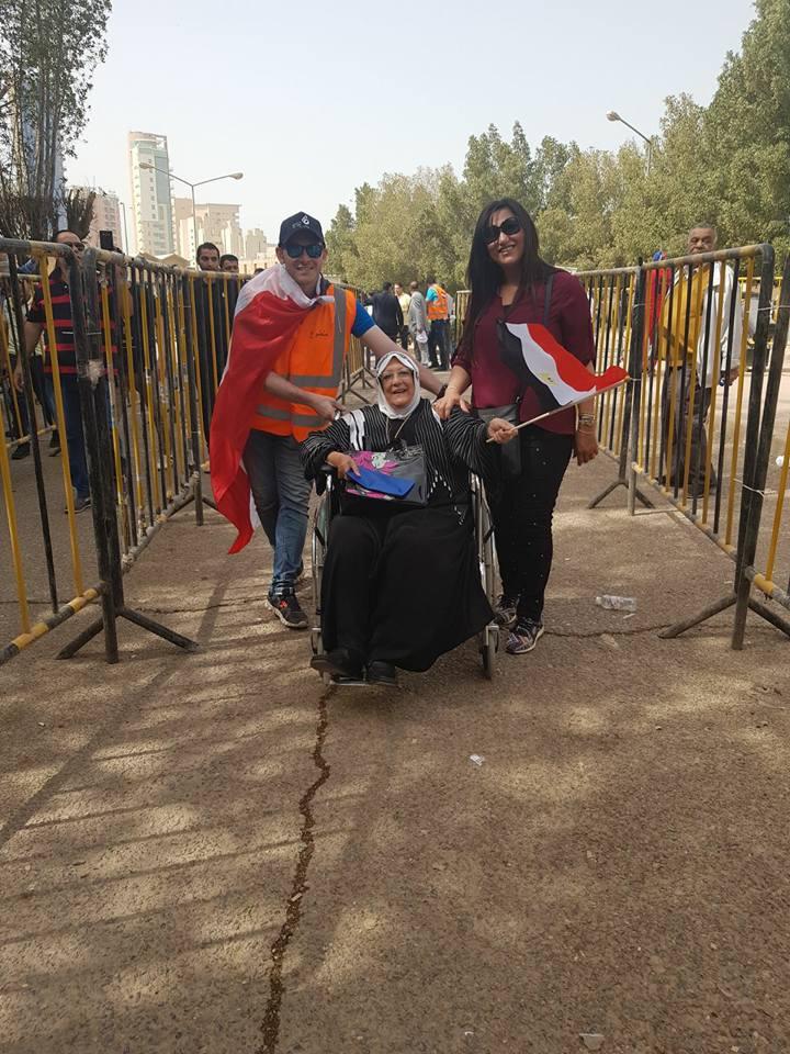 مشاركة ذوى الإعاقة فى الانتخابات الرئاسية (7)