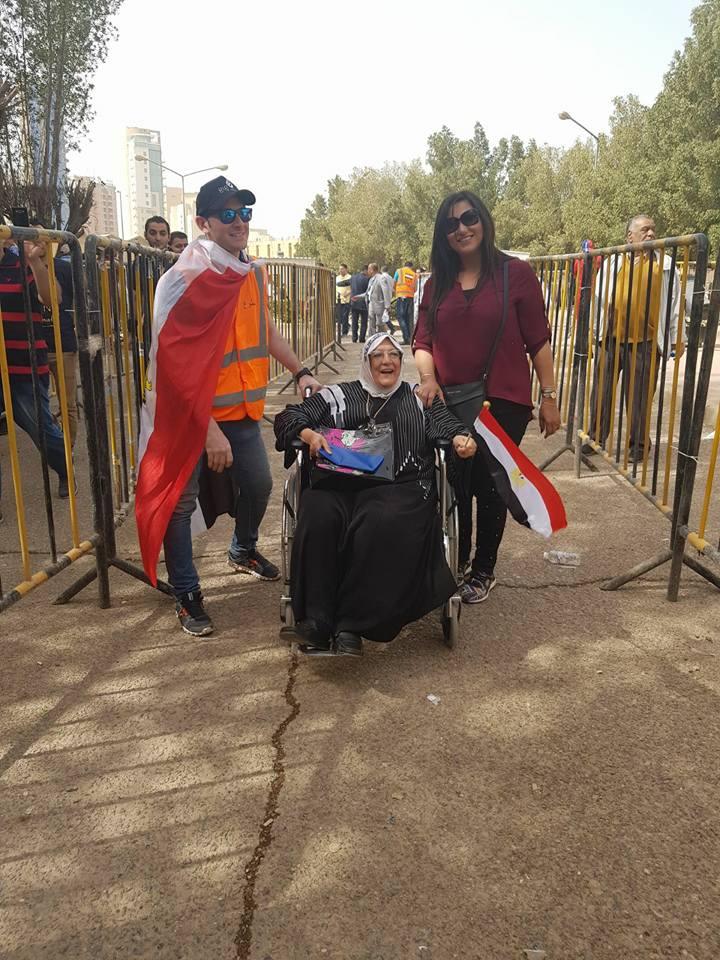 مشاركة ذوى الإعاقة فى الانتخابات الرئاسية (3)