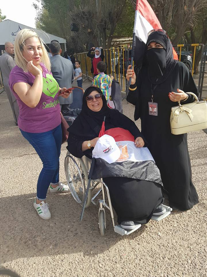 مشاركة ذوى الإعاقة فى الانتخابات الرئاسية (11)