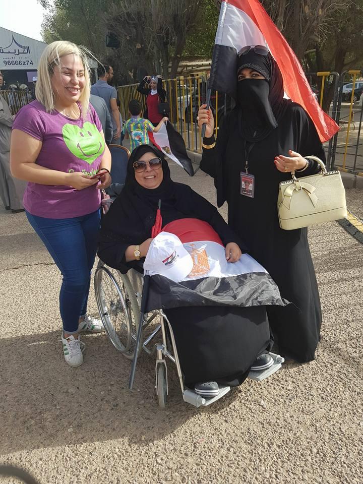 مشاركة ذوى الإعاقة فى الانتخابات الرئاسية (10)