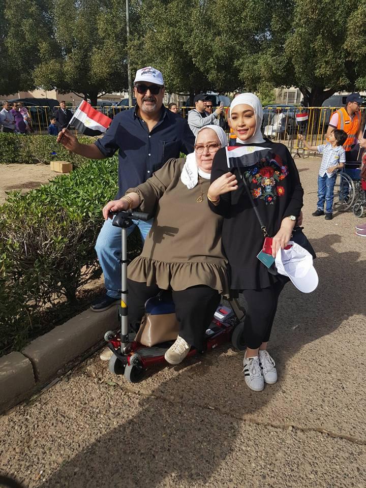 مشاركة ذوى الإعاقة فى الانتخابات الرئاسية (1)