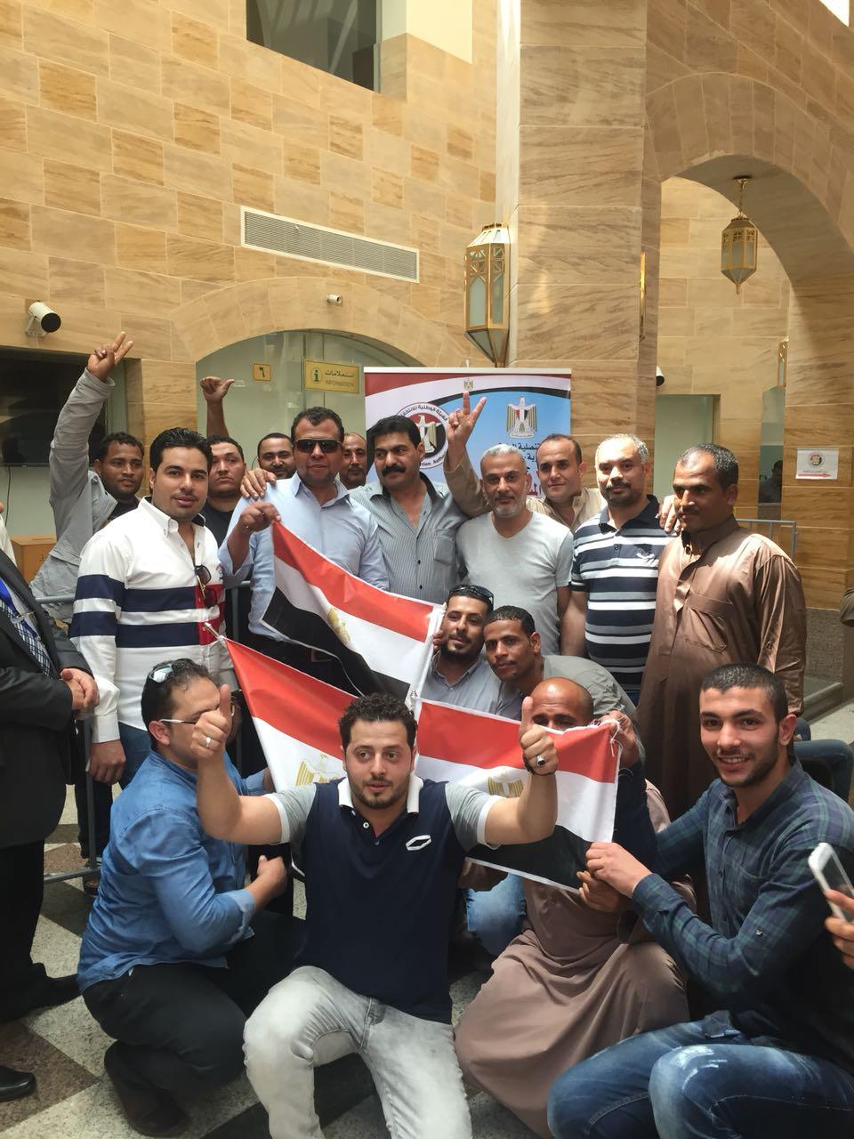 المصريون بعد التصويت