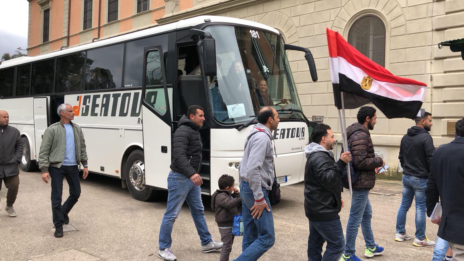 السفاره المصريه فى ايطاليا