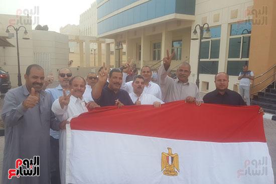 اعلام مصرية فى قطر