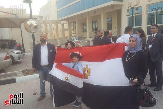 مصريون يتحدون تنظيم الحمدين