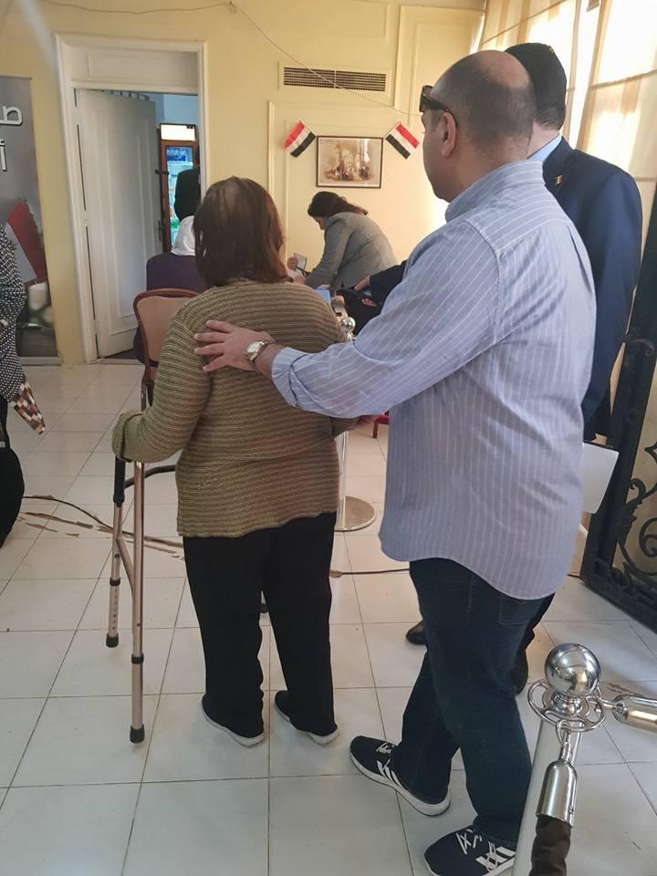 مشاركة ذوى الإعاقة فى الانتخابات الرئاسية (2)