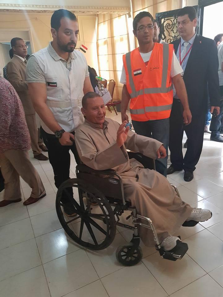 مشاركة ذوى الإعاقة فى الانتخابات الرئاسية (4)