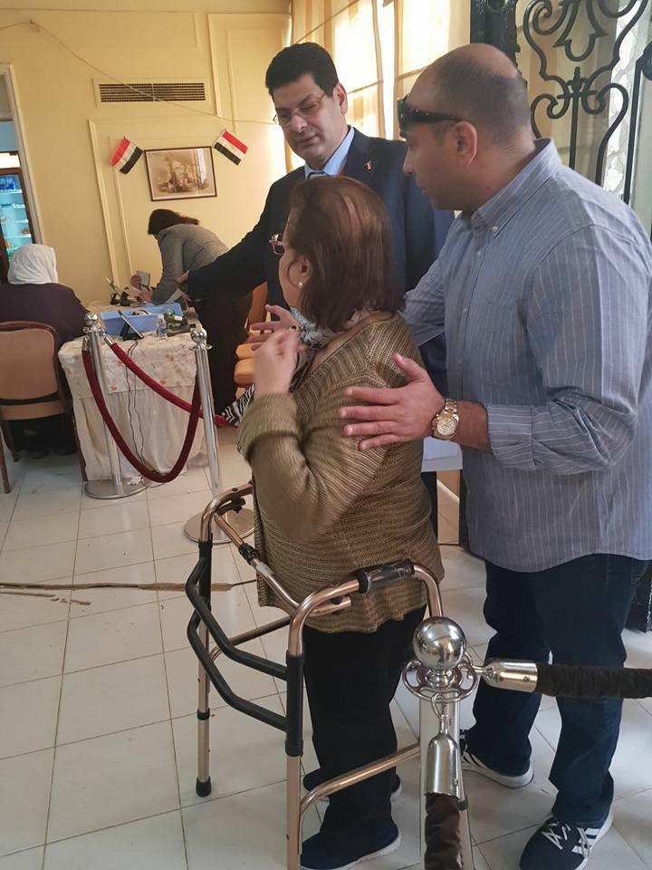 مشاركة ذوى الإعاقة فى الانتخابات الرئاسية (5)