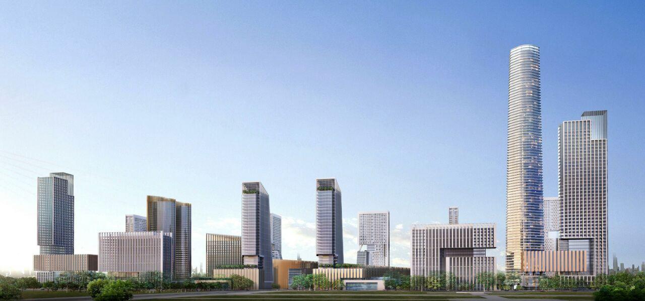 التصميمات المبدئية للأبراج التي سيتم تنفيذها بمنطقة الأعمال المركزية بالعاصمة الإدارية الجديدة (4)
