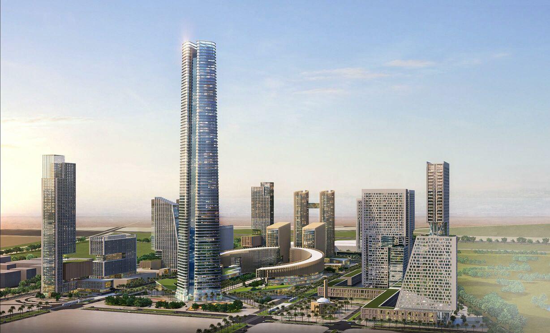 التصميمات المبدئية للأبراج التي سيتم تنفيذها بمنطقة الأعمال المركزية بالعاصمة الإدارية الجديدة (8)
