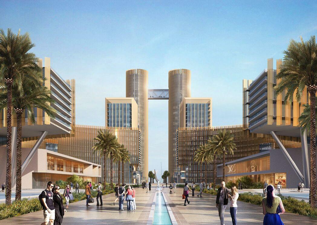 التصميمات المبدئية للأبراج التي سيتم تنفيذها بمنطقة الأعمال المركزية بالعاصمة الإدارية الجديدة (7)