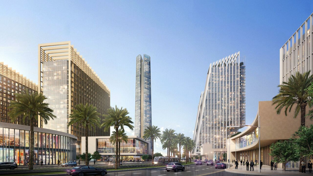 التصميمات المبدئية للأبراج التي سيتم تنفيذها بمنطقة الأعمال المركزية بالعاصمة الإدارية الجديدة (1)