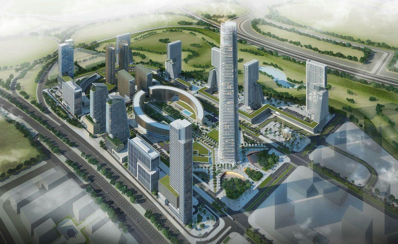 التصميمات المبدئية للأبراج التي سيتم تنفيذها بمنطقة الأعمال المركزية بالعاصمة الإدارية الجديدة (6)