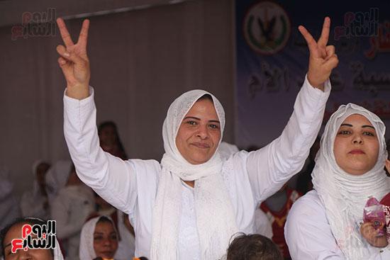 احتفال سجن النساء بعيد الأم (12)
