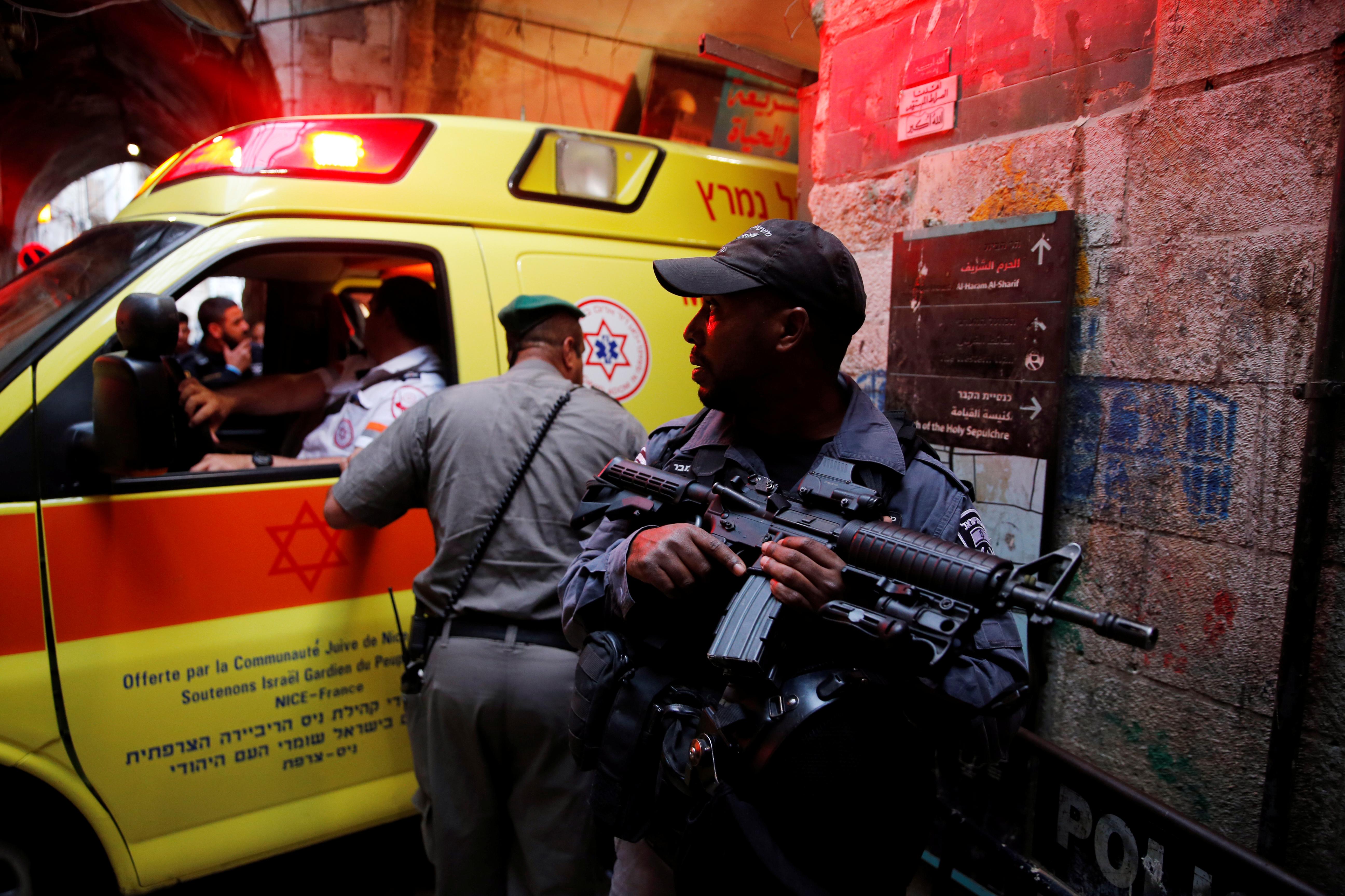 جانب من تواجد قوات الاحتلال الإسرائيلى