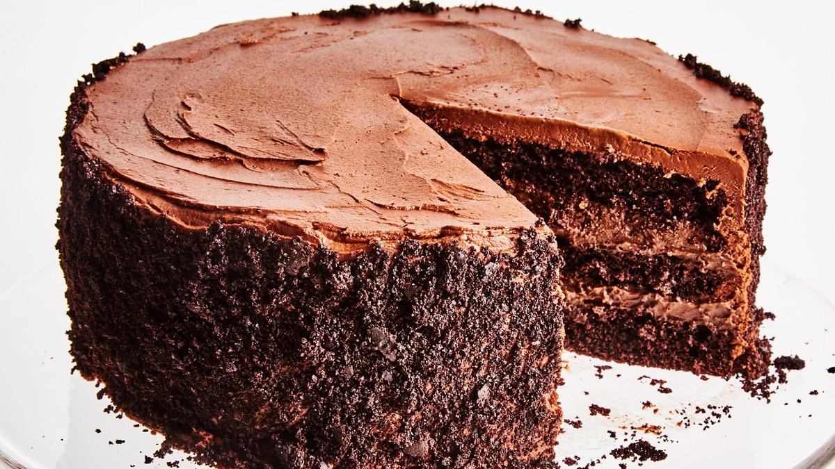 نتيجة بحث الصور عن طريقة تحضير كيكة الشوكولاته الهشة والاقتصادية