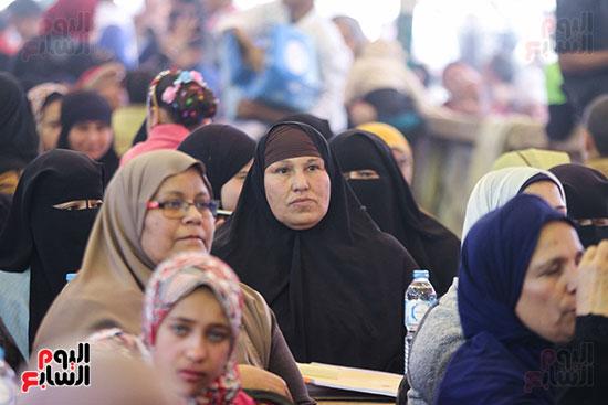 مؤتمر الصف لدعم ترشيح السيسي (7)