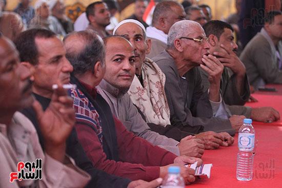 مؤتمر الصف لدعم ترشيح السيسي (14)