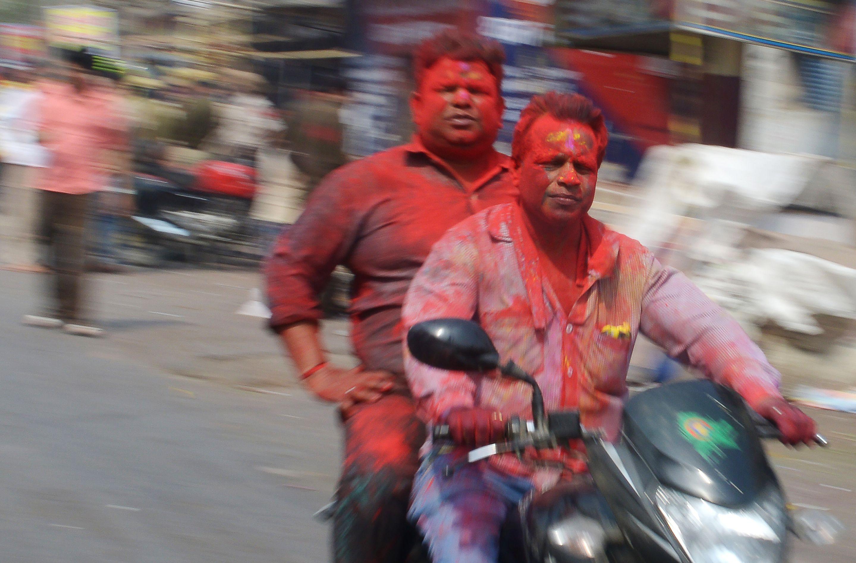 مهرجان الألوان فى الهند