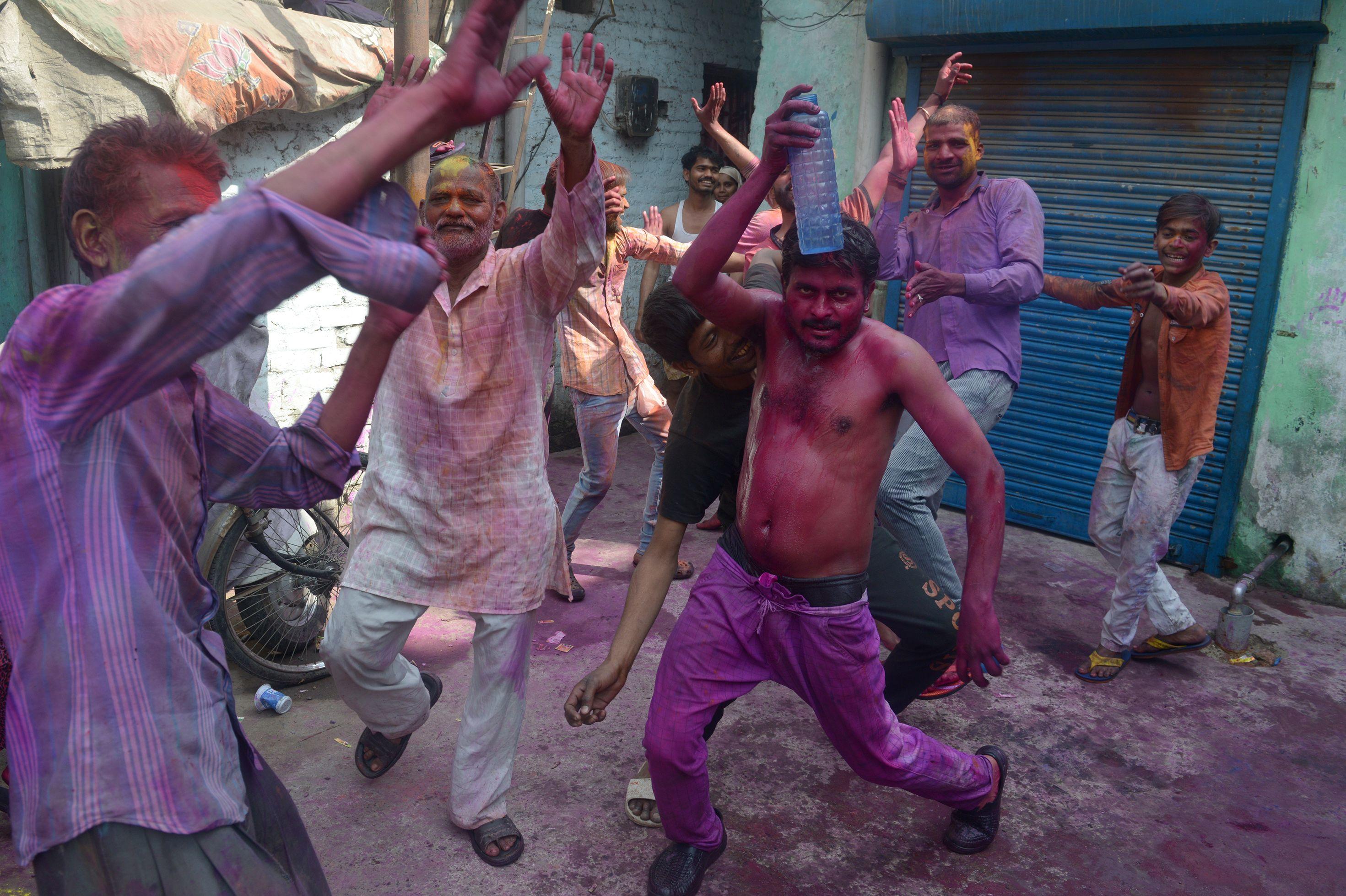 رقص خلال المهرجان