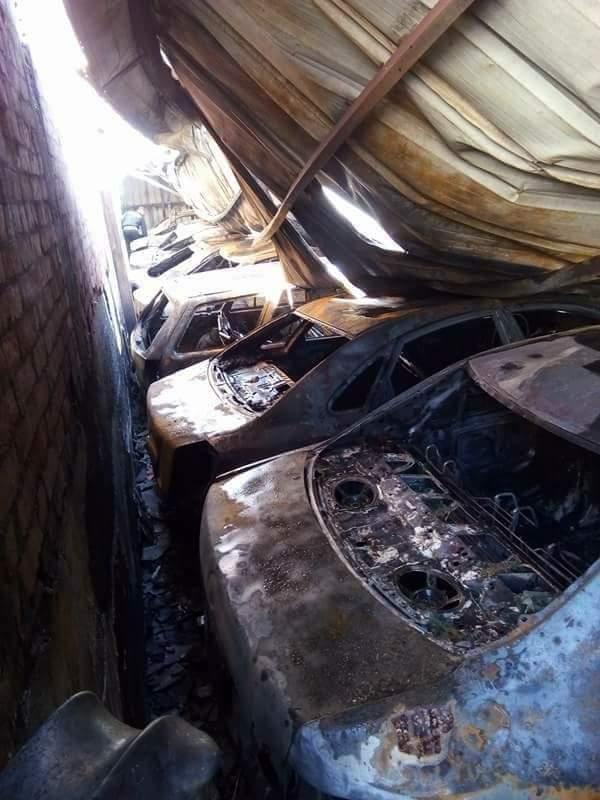 d8ce48ee4 أخر كلام | ننشر صور حريق جراج سيارات فى كفر الشيخ