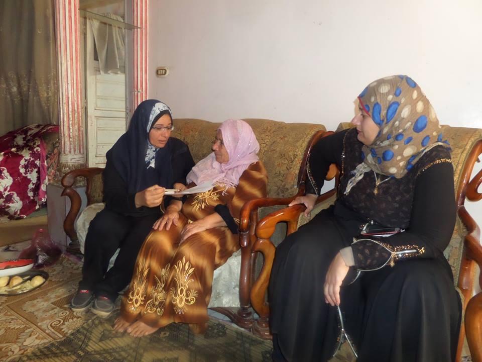 حملة قومى المراة ببورسعيد