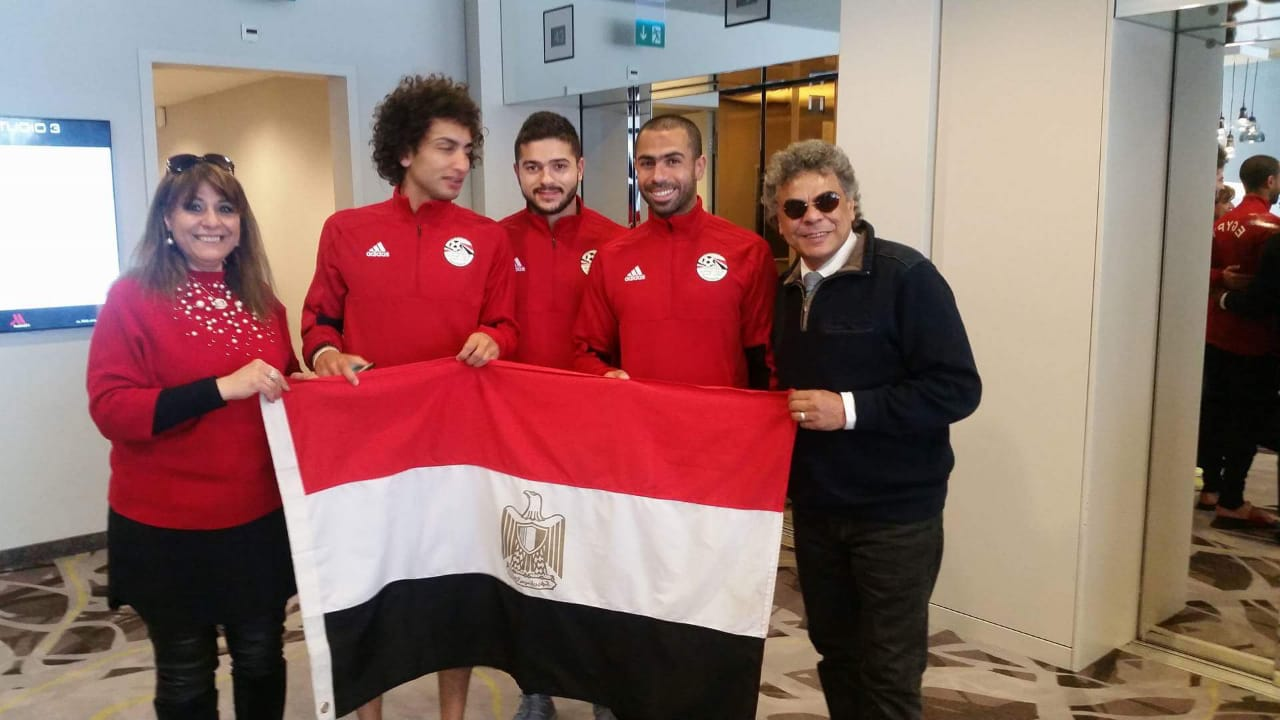 الجاليات المصرية تلتقى محمد صلاح (5)