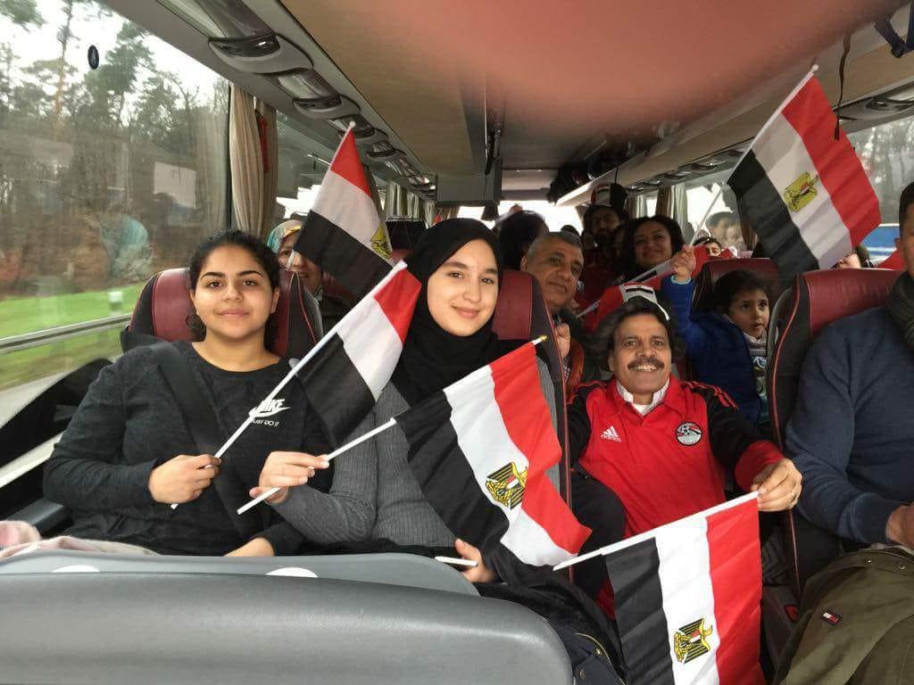 الجاليات المصرية تلتقى محمد صلاح (7)