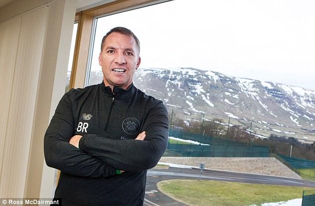 بريندان رودجرز المدير الفنى لنادى سيلتك الأسكتلندى