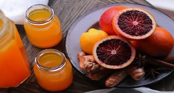 عصير الكركم والليمون