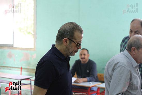 شريف منير انتخابات الرئاسة 2018 (3)
