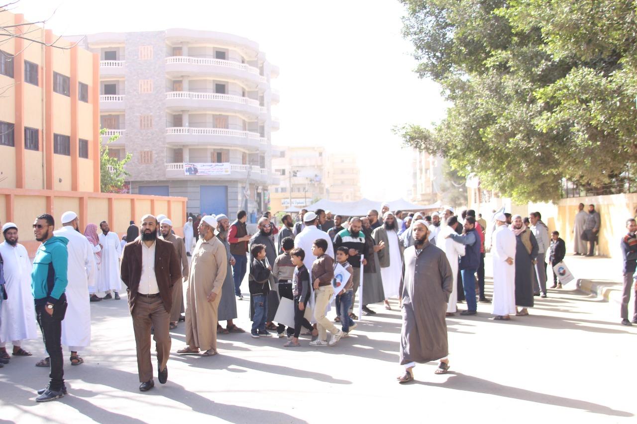 أعضاء حزب النور يشاركون فى الانتخابات الرئاسية