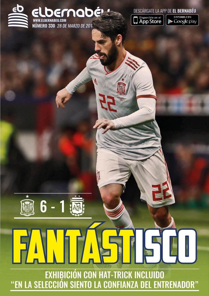 غلاف صحيفة البرنابيو الاسبانية