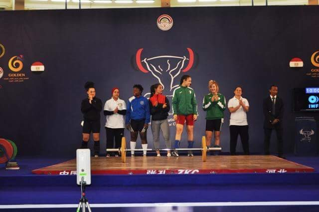 419c436a5d224 سارة سمير تحرز الميدالية الذهبية فى البطولة الإفريقية لرفع الأثقال