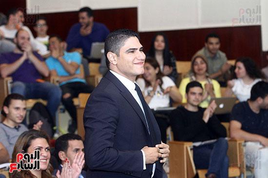 أبو هشيمة فى الجامعة الأمريكية (3)