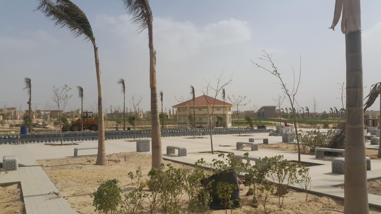 الحديقة المركزية بمدينة الشيخ زايد  (12)