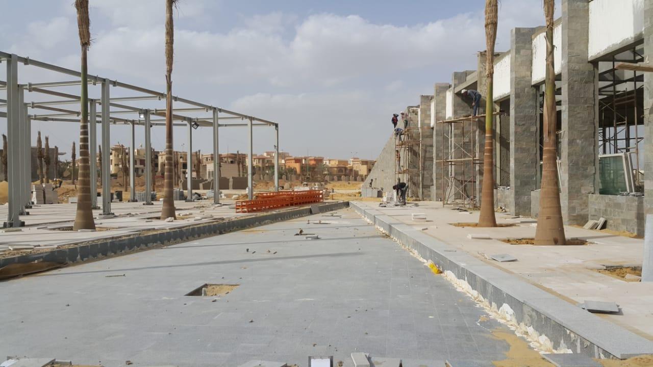 الحديقة المركزية بمدينة الشيخ زايد  (3)