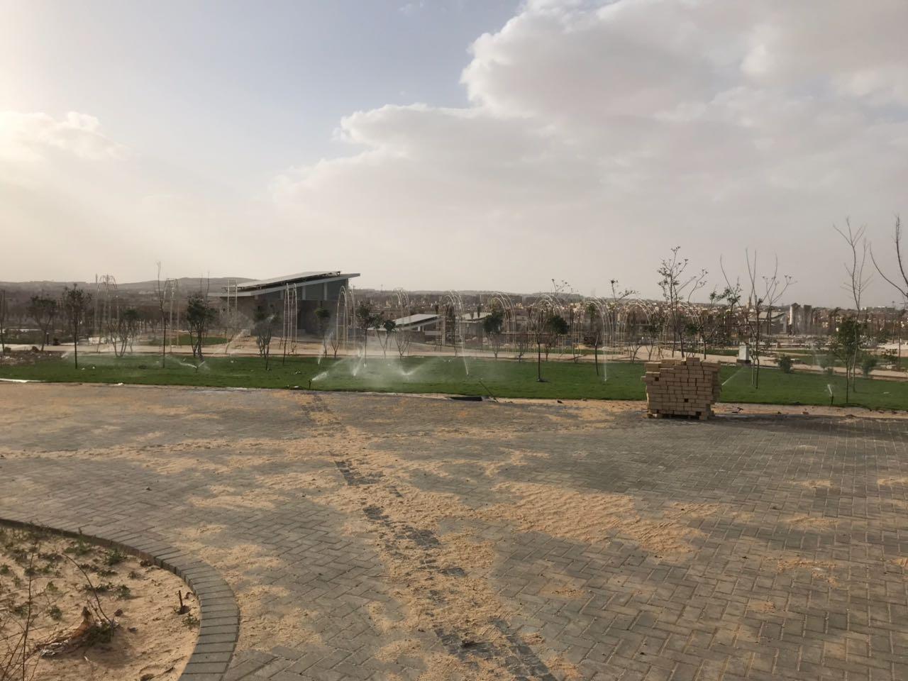الحديقة المركزية بمدينة الشيخ زايد  (9)