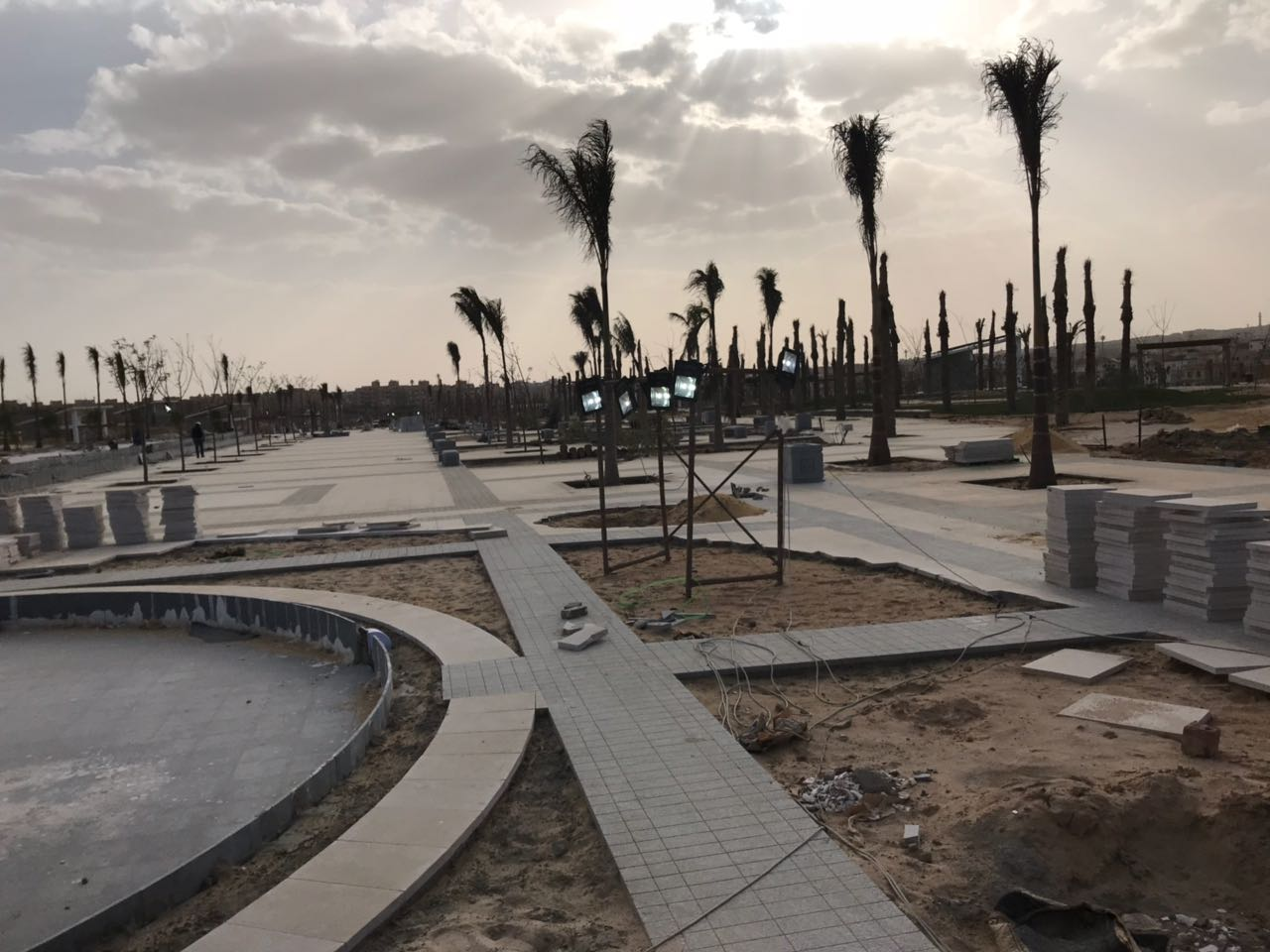 الحديقة المركزية بمدينة الشيخ زايد  (6)