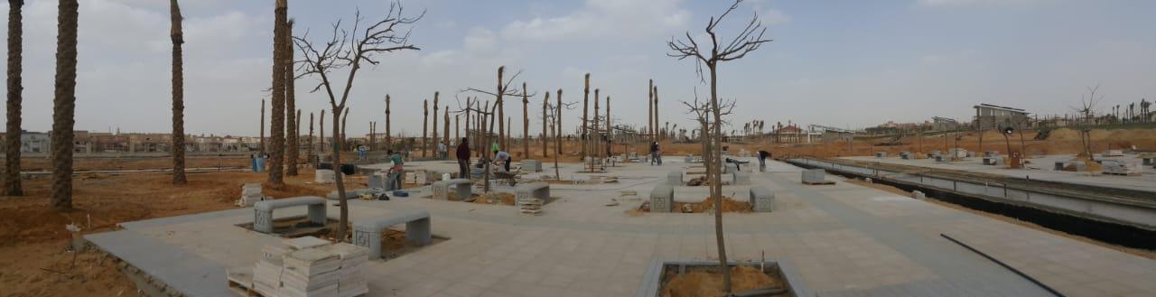 الحديقة المركزية بمدينة الشيخ زايد  (4)