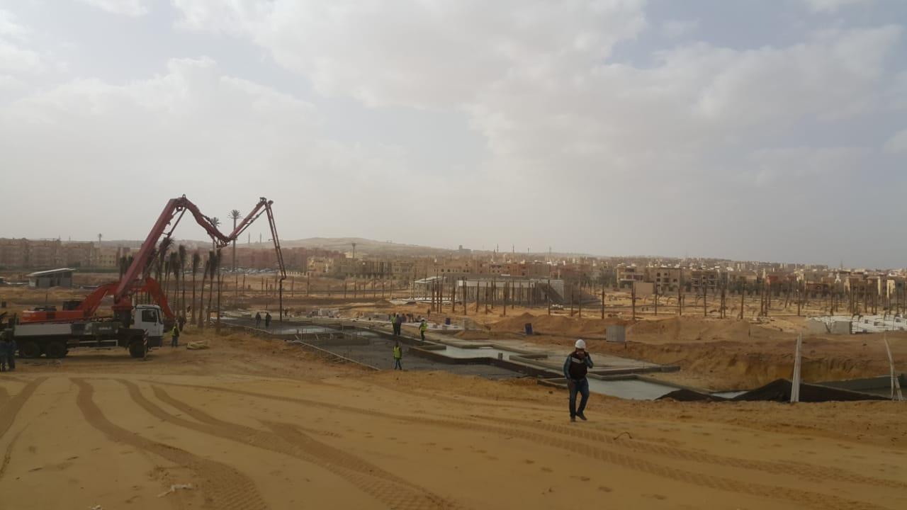 الحديقة المركزية بمدينة الشيخ زايد  (1)