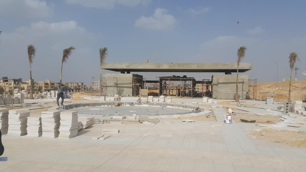 الحديقة المركزية بمدينة الشيخ زايد  (10)