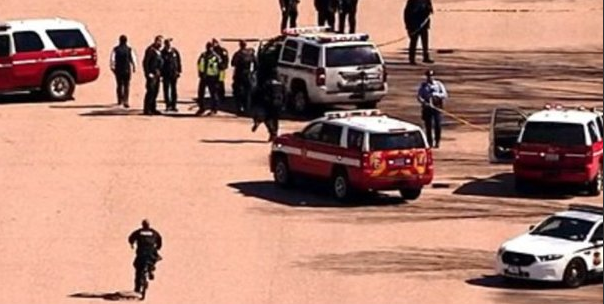 الشرطة الأمريكية بمحيط البيت الأبيض