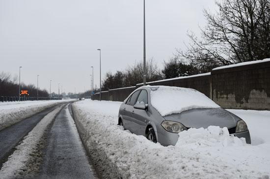 الثلوج فى أيرلندا
