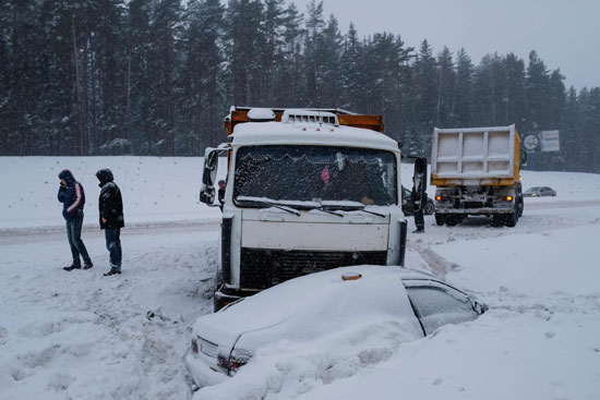 الثلوج فى صوفيا