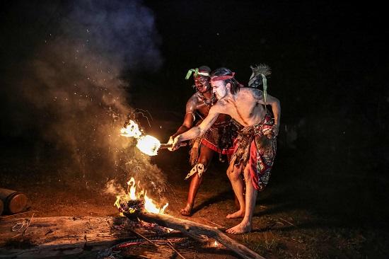الطقوس التقليدية الغابونية